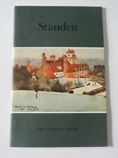 VINTAGE GUIDE TO STANDEN by THE NATIONAL TRUST, 1986 - EXCELLENT CONDITION