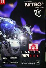 Tarjeta Grafica VGA SAPPHIRE NITRO+ RADEON RX 580 4GB GDDR5