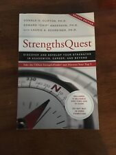 "StrengthsQuest by Donald O. Clifton, PH.D, Edwards ""Chip"" Anderson, PH.D, with"