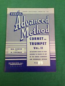 Rubank Advanced Method - Cornet or Trumpet, Vol. 2 (Paperback)