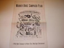 TWO GUYS FROM TEXAS 1948 ORIGINAL WARNER BROS MOVIE FILM PRESSBOOK (479)