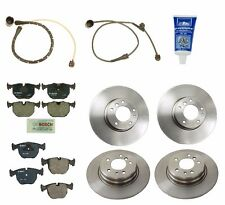 NEW BMW E38 740i 95-01 Front and Rear Disc Brake Pad Wear Sensor & Lubricant OEM