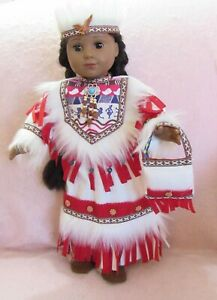 Native American Princess fits American Girl Doll 18 Inch Clothes Seller lsful