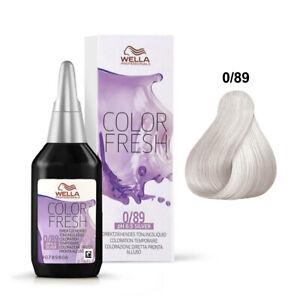 Wella Color Fresh 1 x 75ml Riflessante per Capelli Pronto all'Uso