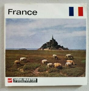 Viewmaster France 3 Reels C230 E Color; GAF BG3 packet book, Belgium