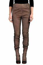 Maison Margiela 100% Leather Multi-Color Women's Casual Pants US S IT 40