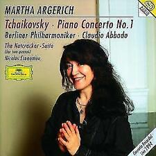 Klavierkonzert 1/nussknackersuite von Economou,Abbado,Argerich,BP (1996)