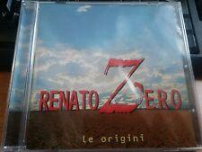 RENATO ZERO - LE ORIGINI - RARO  CD SIGILLATO (SEALED)