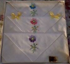 Casual Vintage Plain & Solid Handkerchiefs
