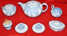 English Jasperware Wedgwood 7 Piece Tea Set - MINT