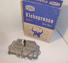 QUALITY ISING KLEBEPRESSE , 8mm & 16mm FILM SPLICER , BOXED