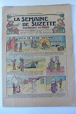 LA SEMAINE DE SUZETTE  25ème ANNEE  1929  -  N° 9