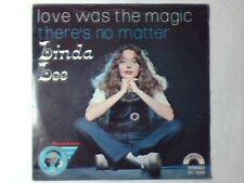 "LINDA LEE Love was the magic 7"" DANIEL SENTACRUZ ENSEMBLE"