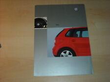 34837) VW Polo 9N Polen Prospekt 2002