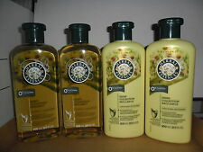 4 x HERBAL ESSENCES Shine Collection Shampoo & Conditioner Sufate Free NEW Hair