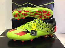 Adidas Messi 15.3 Men's Football Soccer Boots Shoes, Size UK 10.5 / EU 45