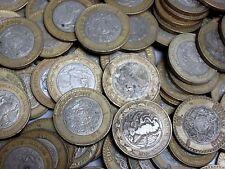 Lot of 50 Circulated Mexican $10 Pesos