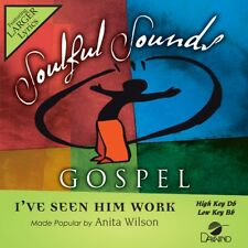 "Anita Wilson - I""ve Seen Him Work -  Accompaniment/Performance Track - New"