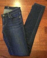 AG The Legging Super Skinny JEANS Women's 25 R Adriano Goldschmied