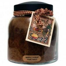 Keepers of the Light Candle - Maple Syrup Pancakes - 34-oz Papa Jar/Tag
