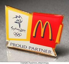 Olympic Pins 2000 Sydney Australia Mcdonalds Partner