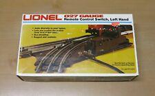 Vintage 1980's Lionel 027 Gauge Remote Control Switch, Left Hand (6-5121)