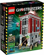 NEW Lego 75827 Ghostbusters Firehouse Headquarters SEALED FREE SHIPPING