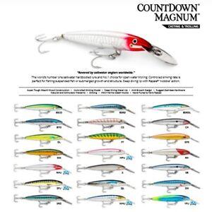 Rapala Countdown Magnum // CDMAG18 // 18cm 70g Fishing Lures (Choice of Colors)