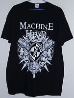 MACHINEHEAD BLOODSTONE & DIAMONDS  2015 WORLD TOUR T-SHIRT (LARGE)
