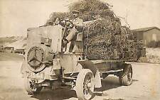 CAMION MERCEDES ? GUERRE 14/18 WWI FERME FOIN CARTE PHOTO NON LOCALISEE 1928