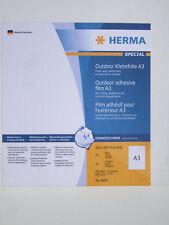 HERMA OUTDOOR ADHESIVE FILM A3 - 8695 - BOX 50 SHTS - FREEPOST - EBAY CHEAPEST