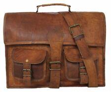 Vintage Leder Umhängetasche Aktentasche Arbeitstasche Laptop Messenger LT021Z