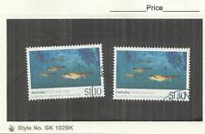 Australia 1990 Antarctica $1.10 Krill Single Fine Used x 2