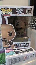 Funko Pop The Rock Wwe Wrestling Vinyl Figure #03 vaulted rare