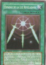 CARTAS YU-GI-OH.ESPADAS DE LUZ REVELADORA LDD-S101 CARTA SUPER RARA 1º ED