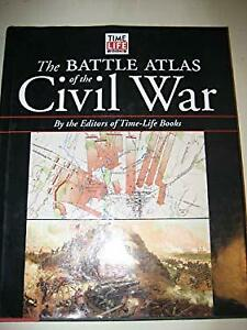 Battle Atlas of the Civil War Paperback Time-Life Books