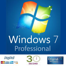 Microsoft Windows 7 Professional Full Complete Version 32 & 64 Bit Product Key