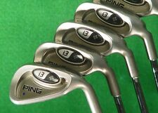 Ping i3+ Blue Dot 5-PW Iron Set Factory Ping True Temper DGS Steel Stiff