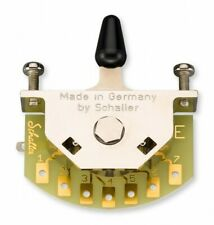 Schaller Germany 5-Way Megaswitch MODEL E for Advanced Pickup Switching