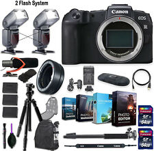 Canon EOS RP Mirrorless Digital Camera (Body Only) + 2 Flash System Kit