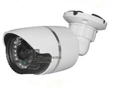 TELECAMERA CAMERA VIDEOSORVEGLIANZA INFRAROSSI 24 LED CCD 3,6 mm 700 TVL
