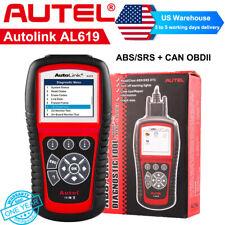 Autel AL619 OBD2 Automotive Engine Code Reader Diagnostic ABS SRS Airbag Scanner