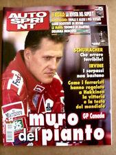 AUTOSPRINT n°24 1999  Inserto Superturismo Alfa Romeo Alfa 156   [P59]