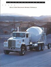 Truck Brochure International 5000 Paystar Set-Forward Axle Cement Mixer (T1847)