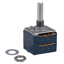 ALPS RK27 10KA Audio Taper Potentiometer Solid Shaft