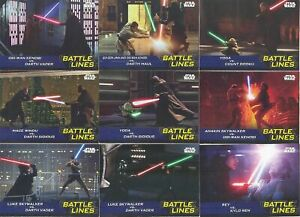 Journey To Star Wars The Rise Of Skywalker Battle Lines 10 Card EXCLUSIVE SET!