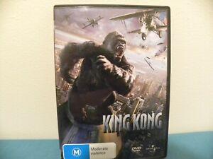 King Kong DVD - Jack Black - GC - REGION 4