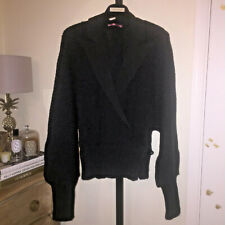 Mai Melissa Blazer Knitted Wool Cardigan Jacket Coat