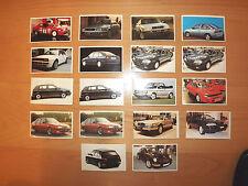Lote de 18 cromos - EL MUNDO DEL COCHE - Audi S4, Integrale, Porsche 911, Golf