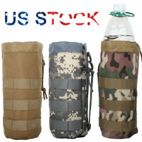 Military Hydration Kettle Pouch Carrier Bag Tactical Molle Water Bottle Holder